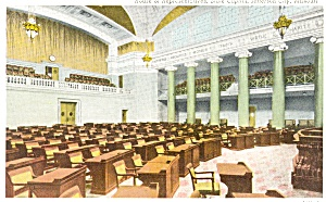 Legislature Jefferson City, MO Postcard (Image1)