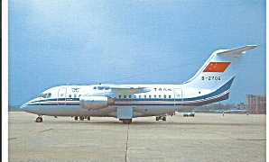 CAAC China BAE 146-10 B-2706 at Canton p33401 (Image1)