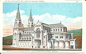 Quebec Canada Basilica St Anne Beapre p33418 (Image1)