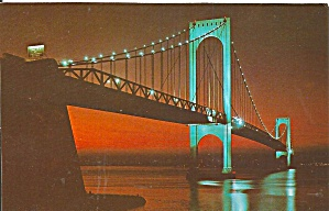 New York City Bronx Whitestone Bridge P33429