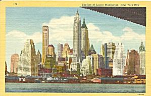 New York City Skyline Lower Manhattan p33446 (Image1)