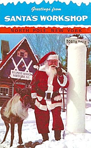 Santa s Workshop North Pole NY p33497 (Image1)
