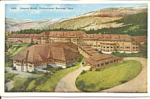 Yellowstone National Park WY Canyon Hotel p33501 (Image1)