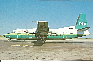 PIA Pakistan International Airlines F-27-200 AP-BBF p33510 (Image1)