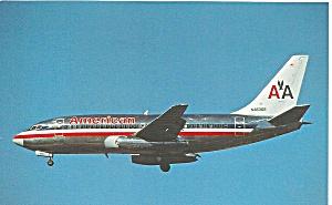 American Airlines 737-293 N463GB Postcard p33516 (Image1)