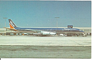 Wien Air Alaska Dc-8-63cf N774ft Postcard P33520