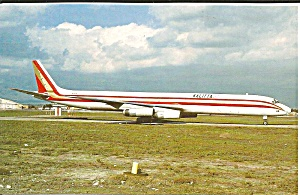Connie Kalitta Air Services DC-8-63 F N31EK postcard p33528 (Image1)