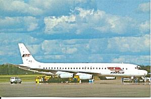 KARAIR DC-8-62 OH-LFZ postcard p33529 (Image1)