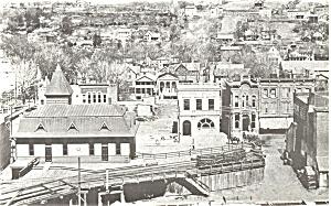 Honesdale PA Gravity Station Postcard p3356 (Image1)
