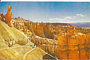 Bryce Canyon National Park UT postcard p33574 (Image1)