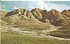 Badlands of South Dakota postcard p33575 (Image1)