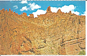 Holy City Rock Formation Wy Postcard P33590
