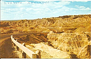 Badlands National Monument SD postcard p33597 (Image1)