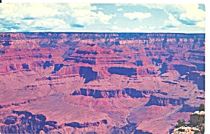 Grand Canyon National Park Az South Rim Postcard P35609