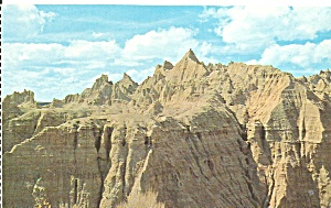 Badlands  National Monument SD postcard p33613 (Image1)