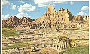 Badlands National Monument SD postcard p33625 (Image1)