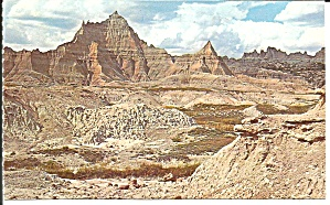 Badlands National Monument SD postcard p33626 (Image1)