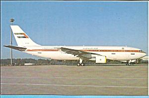 United Arab Emirates A300-B4-620 postcard p33629 (Image1)