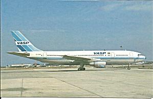 VASP  A300-B2-203 PP-SNN postcard p33630 (Image1)