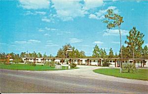 Waldo FL Motel Yankee postcard p33656 (Image1)