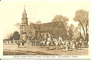Williamsburg VA Bruton Parish Church p33660 (Image1)