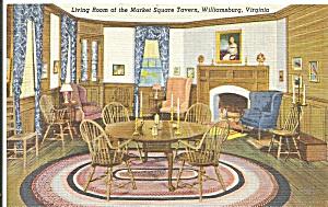 Williamsburg VA  Living Room Market Square Tavern p33677 (Image1)