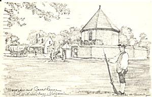 Williamsburg VA Magazine and Guard House p33680 (Image1)