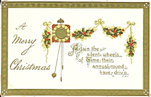 Merry Christmas 1911 Divided Back Card p33682 (Image1)