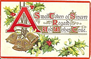 Christmas 1911 Divided Back Card p33685 (Image1)