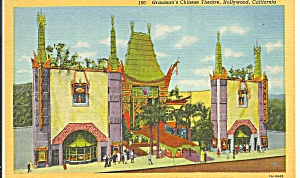 Hollywood CA Grauman s Chinese Theatre postcard p33692 (Image1)