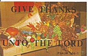 Verse from Psalms 106:1 Praise  Ye The Lord   p33704 (Image1)