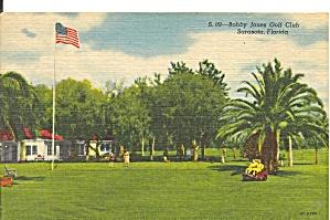Sarasota FL Bobby Jones Golf Club postcard p33736 (Image1)
