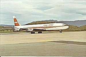 Twa Trans World Airlines 707-331b P33737