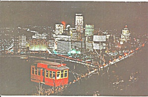 Pittsburgh PA at Night from Duquesne Incline p33750 (Image1)