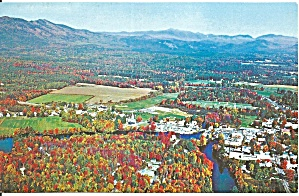 Aerial View Of Conway Nh Mt Washington P33769