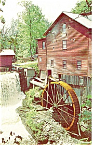 New Hope Mills Moravia NY Postcard p3376 (Image1)