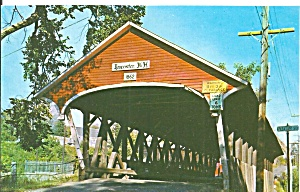 Lancaster Nh Mechanic St Covered Bridge P33810