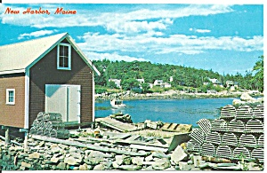 New Harbor Me Quaint Back Cove P33822