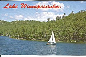 Lake Winnipesaukee NH Sail Boat p33833 (Image1)