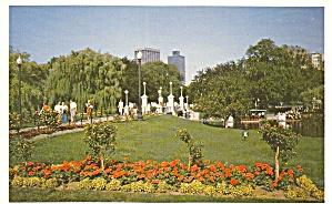 Boston MA The Public Gardens  P33873 (Image1)