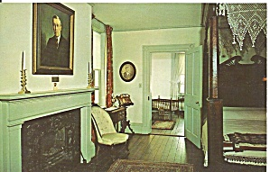 Staunton Va Woodrow Wilson S Birth Room P33911