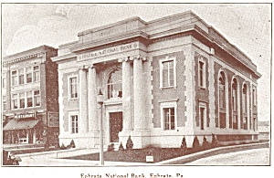 Ephrata PA National Bank Postcard (Image1)