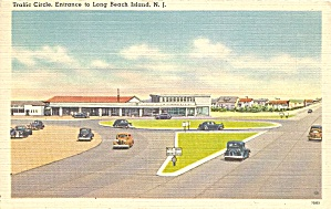 Long Beach Island NJ Entrance Traffic Circle p33941 (Image1)