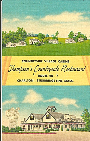 Sturbridge Ma Thompson S Countryside Restaurant P33942