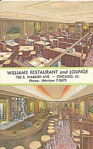 Chicago IL Williams Restaurant Lounge p33944 (Image1)