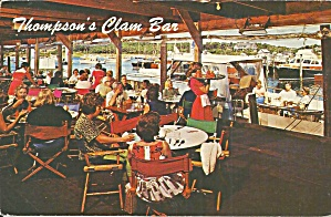 Harwich Port MA Thompson Brothers Clam Bar p33961 (Image1)
