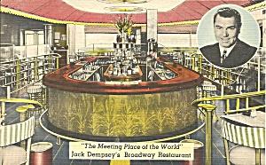 New York NY Jack Dempsey s Broaday Restaurant p33972 (Image1)