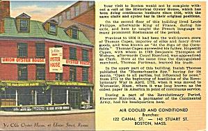 Boston MA Union Oyster House p33988 (Image1)