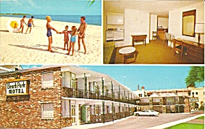 St Petersburg Fl Beach Park Motel P34135