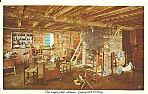 Greenfield Village MI The Plympton House Interior p34238  (Image1)